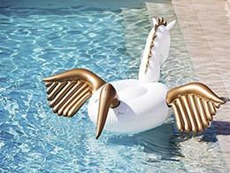 Wholesale Inflatable Float Row - Inflatable Pegasus Emptying Unicorn Swan Flamingos Water Floating Row Mount