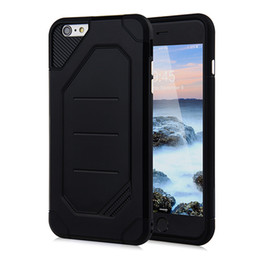 Wholesale Shock Proof Pc Case - New for iPhone 7 Case PC+TPU 2 in 1 ARMOR Cover Strong Protect Shock Drop Proof Gasbag Robot Camera Protect hot sale