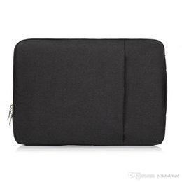 Wholesale Ipad Acer - Notebook Jean Carrying Case Briefcase Laptop Bag For ALL Laptop 11 13 15 11 inch 13 inch 15 inch Mac Pro Acer Asus Dell Lenovo HP opp bag