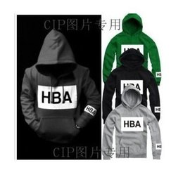 Wholesale Women S Sweaters Hoods - Men women hood by air Pyrex religion HBA Hooded sweater Fashion Trends Printed Thin Thick Jacket Shirt Size S-3xl Cotton Free Shipping
