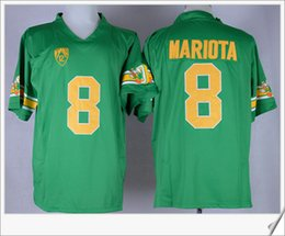 Wholesale Cheap Jersey For Football Team - Oregon Ducks #8 Marcus Mariota American College Football Tennessee Stitched Embroidery Mens Pro team Jerseys Cheap Free Shipping For Sale