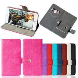 Bolsa magnética magnética para iphone on-line-Luxo carteira universal pu leather flip magnetic stand case capa do telefone para iphone x 8 7 6 plus samsung s8 s7 s6 4.1 a 6.0 polegadas celular