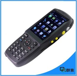 Wholesale 3g Performance - High performance PDA3501 qr code scanner data collector with 3G, wifi , bluetooth,NFC reader,5.0 carmera