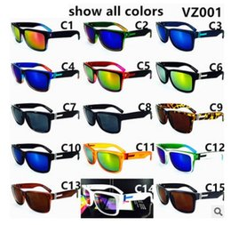 Wholesale American Pilots - Hot Sale American Style Fashion big frame Sunglasses VZ 001 Sports Eyewear Driving Sunglasses 10PCS free ship