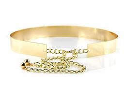 2017 Impresionantes marcos nupciales de la boda de oro, plata largos cinturones de boda accesorios nupciales ajustables baratos desde fabricantes