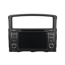 Wholesale Mitsubishi Car Stereo Gps - Android 5.1 Car DVD player for Mitsubishi Pajero with 7inch HD Screen ,GPS,Steering Wheel Control,Bluetooth, Radio