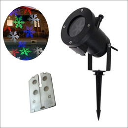 Wholesale Laser Light Projection - RGBW 12 designs Auto Moving Colorful design Christmas Holiday Lights Outdoor Waterproof Projection Lights LED laser lighting projector