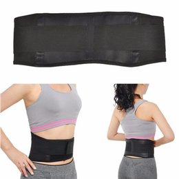 Wholesale therapy bands - Adjustable Tourmaline Self-heating Magnetic Therapy Waist Belt Lumbar Support Back Waist Support Brace Double Banded