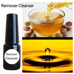 Wholesale Nail Polish Cleanser - Wholesale- UV Gel Nail Gel Remover cleanser plus Cleaning Enhances shine eco friendly argan extracted for UV LED nail gel polish good