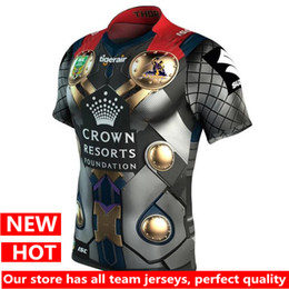 Wholesale Marvel T - Hot sales Melbourne Storm 2017 Marvel Thor Jersey Latest style sale Rugby Jerseys t-shirt S-3XL