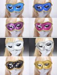 2019 animais máscara facial crianças Livre EMS 100 peças Mista Máscaras de Halloween Máscaras Máscaras de festa Máscara veneziana mulheres Lady Sexy KTV Disco máscaras de Casamento f
