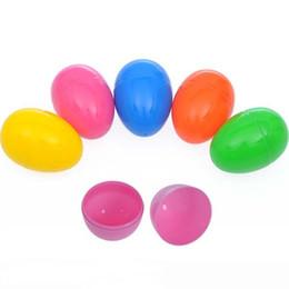 Canada 30pcs / lot coloré oeufs de Pâques supplier egg shaped plastic Offre