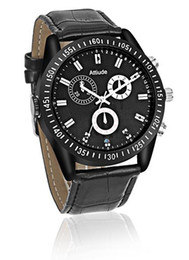 Wholesale Thinnest Spy Camera Watch - 8GB 16GB 32GB Ultra-thin Watch pinhole Camera FULL HD 1080P Spy Watch Camera With Night Vision Motion Detection voice vedio recorder