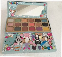 Wholesale Face Shimmer - Newest Makeup Faced Clover A Girl's Best Friend 18 colors Eye Shadow Palette Shimmer Matte DHL Shipping