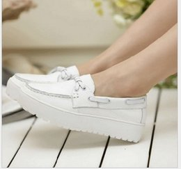 Wholesale Genuine Leather Nurse - Spring comfortable Nurse shoes genuine leather Flats platform shoes Cow Leather pregnant single shoes