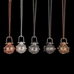 Difusor Locket Collar Aromatherapy Difusor Collares Aceites Esenciales Difusor Collar Moda Locket Nuevos Colgantes Collar 5 Colores desde fabricantes