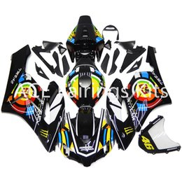 Wholesale Motorcycle Decals For Honda - 3 gift new For Honda CBR1000RR 2004 2005 04 05 ABS Motorcycle Fairing Kit Bodywork Beautiful decals