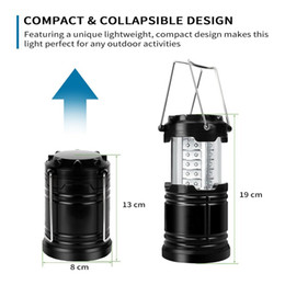 projecteurs utilisés Promotion 2017 New Outdoor Lanterns Éclairage 30 LED Camping Lantern Brightest Tent Light Éclairage Extérieur Portable suspension Lampe Randonnée De Pêche