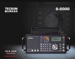 Tecsun S-2000 FM / MW / SW - SSB / radios de banda aeronáutica originales de alta calidad desde fabricantes