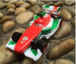 Wholesale New Boys Pixar Cars - Brand New Pixar Cars 2 Francesco Bernoulli metal Diecast F1 Car Racing loose toy toys for children Lightning McQueen