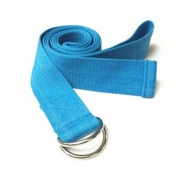 2019 metro di lattice Multi-Colors Yoga Cinture Stretch Strap yoga corda Fitness Esercizio Palestra Corda yoga coulisse attrezzature per il fitness out245