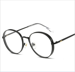 Wholesale Liberty Round - vintage Gentle brand optic prescription glasses frame titanium GM round frame Liberty eyeglasses frame Oculos De Grau with box