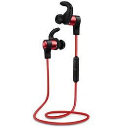 Wholesale bluetooth headset multi point - Wireless Sport Bluetooth Headset H3 Bluetooth 4.1 Stereo Gym Headset Earphones Multi-point Handsfree With Retail Box Free DHL
