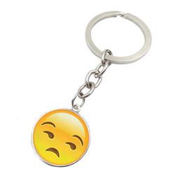 2017 Nuevo QQ Juguetes llavero 6 cm emoticonos smiley pequeño colgante emoción amarillo QQ plush pants bolso colgante YCK8 desde fabricantes
