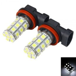 Wholesale 27 Smd - 1156 1157 t20 T25 h1 h11 h7 h4 27 SMD 5050 LED Plasma Red Tail Turn Signal Car Light Bulb Lamp
