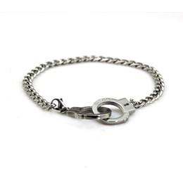 Bracelets de menottes hommes et femmes de chaîne de torsion rétro gravés rétro lettre Twist Chain or rose en acier inoxydable ? partir de fabricateur