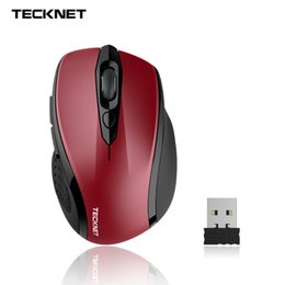 Wholesale Nano Mouse - Wholesale- TeckNet TeckNet PURE 2.4G Wireless Mouse, 6 Buttons, 18 Month Battery Life, 3 Adjustable DPI Levels, Nano Receiver