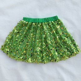 Wholesale Skirted Dance Pants - High quality baby skirt wholesale sequin dance skirt,Sequin skirt colorful baby girl pants boutique toddler girls skirts