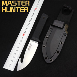 Wholesale Black Micarta - Cold Steel Master Hunter Tactical Knife,9Cr13Mov Hunting Fixed Blade Camping Outdoor Knives,Survival EDC Tools,Straight Knife Rubber Handle