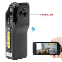 Wholesale Wireless Surveillance Cam - Mini Remote SPY Camera for Iphone Android Ipad PC Mini Wifi IP Wireless Spy Surveillance Camera Remote Cam MD81 MD81S