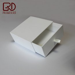 Wholesale Handmade Stamped Jewelry - Wholesale 500pcs lot size 14*14*6cm 1200g cardboard made Luxury quality paper drawer packaging box for belt,accept custom logo and free ship
