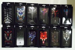 Wholesale Skull Cover Case - 73 patterns Marcelo Burlon Cover Animal Tiger Fox Skull PC Case Cover For iPhone X 8 6 6S 7 Plus 5 SE 5S