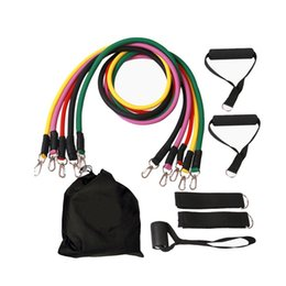 Wholesale Resistance Set - Resistance Band Set with Door Anchor, Ankle Strap, Exercise Chart, and Resistance Band For Resistance Training, Physical Therapy Workouts