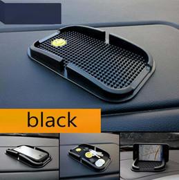Wholesale Shelf For Cars - car Anti Slip pad Rubber Mobile Sticky stick Dashboard Phone Shelf Anti non slip Mat For GPS MP3 car DVR non slip mat holder