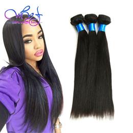 Argentina Venta al por mayor Mongolian Virgin Hair 4 Bundles 8A extensiones de armadura de Mongolia pelo liso sin procesar paquetes de pelo de la Virgen sin enredo puede ser teñido Suministro