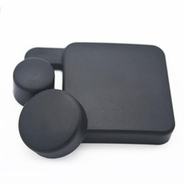 Wholesale Len Cases - Wholesale-New Camera Len Caps new waterproof cover for SJ4000 camera lens for waterproof case 1Pc for bare camera