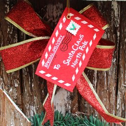 Wholesale Stock Envelopes - Christmas decorations DIY Party Christmas tree Pendant cute small Non-woven envelope Candy bag ornaments quality Party Supplie wholesale