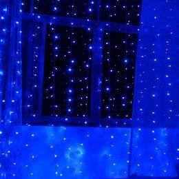 Wholesale Light Cristmas Led - Wholesale-New Year AC220V 3X2M Garland LED Christmas Lights Outdoor Navidad Cristmas Decoration LED Curtain String Lights Luzes de Natal