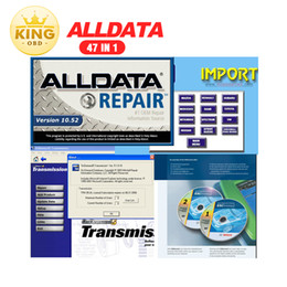 Wholesale Volvo Repairs - 2017 Hot 47in1 alldata and mitchell software alldata 10.53+mitchell on demand 2014+ATSG+ETKA+vivid+ELSA+med& heavy truck 1tb hdd DHL Free