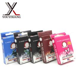 Wholesale E 14 - Wholesale-10pc lot Electronic Cigarette Kits Hot E Cig Cartridge Fit For Top Quality Starbuzz E Hose 14 flavors 10* e-hose cartridge NO.23