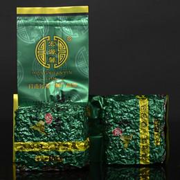 500 g de té Anxi Tieguanyin Oolong con aroma intenso, el té de China Guan Yin con corbata verde de China, alimentos orgánicos de forma natural OT-006 al por mayor desde fabricantes