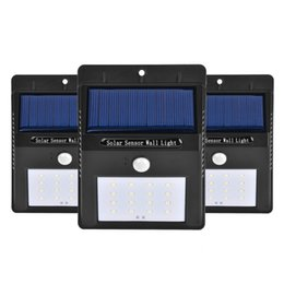 Wholesale Solar Motion Path - 12 LED Bright Solar Panels Lamp Outdoor Garden Motion Sensor Activated Solar Power Lights For Patio Fencing Waterproof Path Lighting