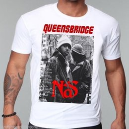 Wholesale Posters Hip Hop - Hip Hop, Nas T-Shirt, New, Illmatic, Mobb Deep, Wutang Clan, Rap, CD, Poster Fashion T Shirts Summer Straight 100% Cotton