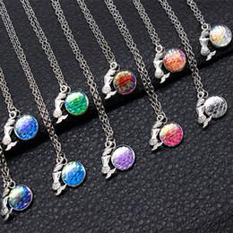Wholesale Ocean Day - Ocean Series Multicolor Mermaid Jewelry Mermaid & Mermaid Scale Necklace Charm Mixed Wholesale On Behalf Of The Delivery