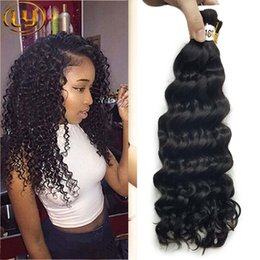 Wholesale Synthetic Peruvian Weave - Malaysian mini Braiding Bulk Hair No Weft 3 Bundle Deals Deep Curly Weave Human Bulk Hair Malaysian Deep Curly Bulk Hair