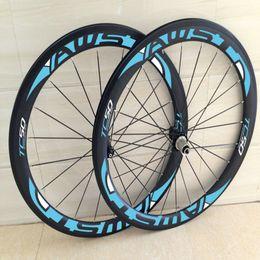 2019 bicicleta de ciclocross de carbono venta caliente de porcelana barata ruedas bicicleta de carretera de carbono 3k Sarga moto factor decisivo ruedas de bicicleta de carbono negro de 23 mm en las ruedas libres del envío